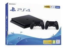 Žaidimų kompiuteris SONY PlayStation 4 (PS4) 500GB + papildomas pultelis