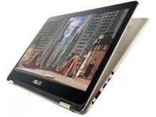 Nešiojamas kompiuteris ASUS Zenbook Flip UX360CA  M/4/256/HD/Win/Gold