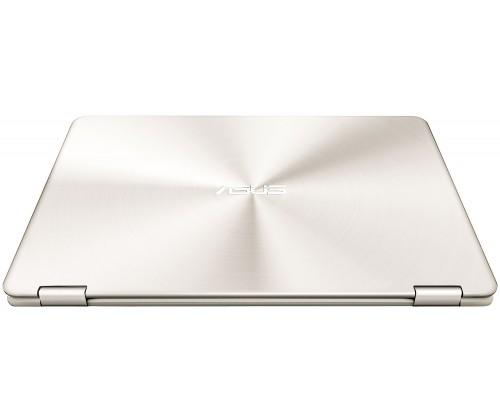 Nešiojamas kompiuteris ASUS Zenbook Flip UX360CA  M3/4/256/HD/W10/Gold 9
